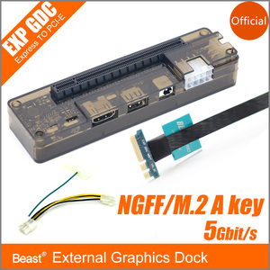 M.2 A/E key External Graphics Dock